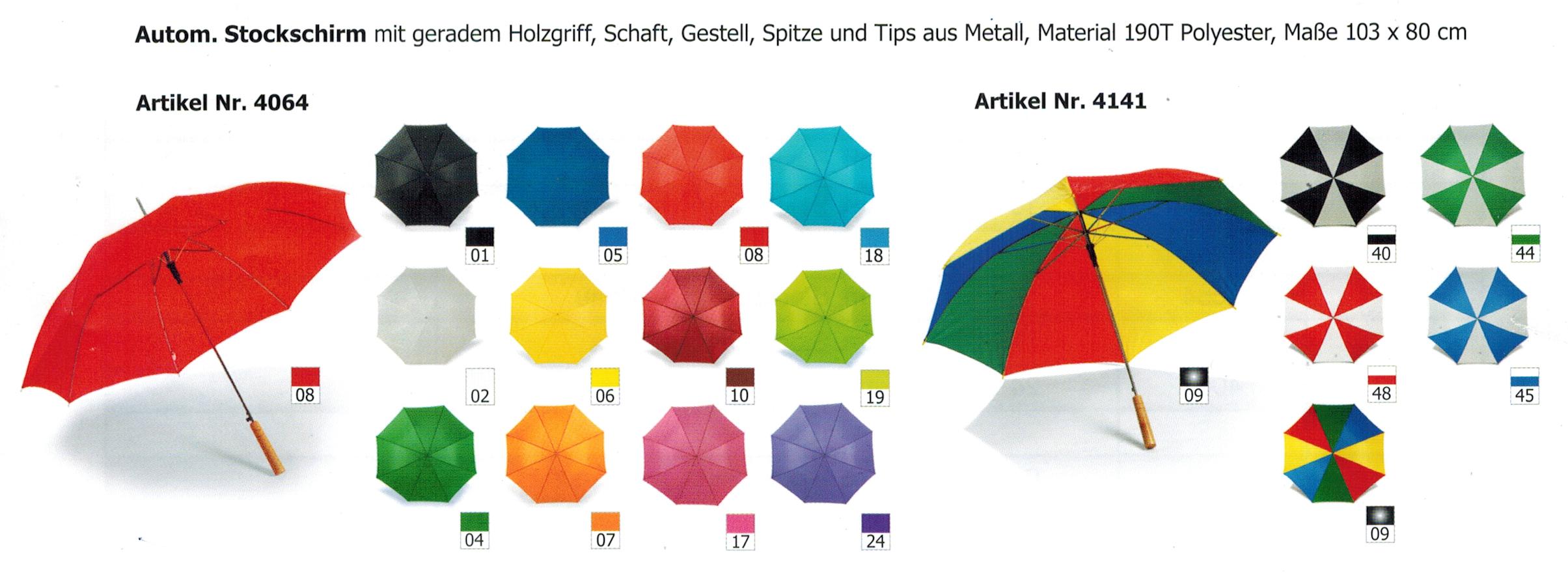 Regenschirme Sonderangebot